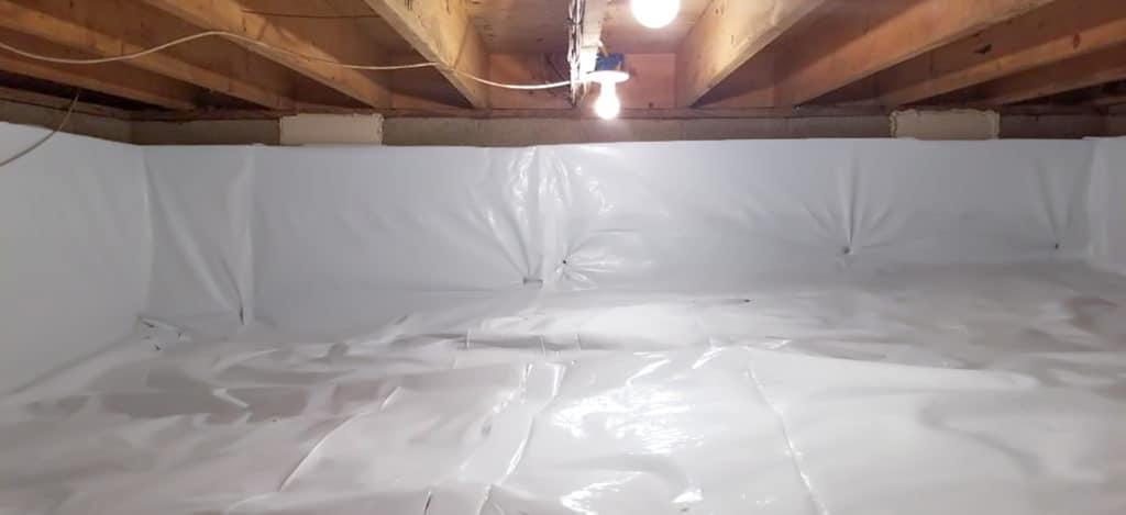 Crawlspace Weatherproofing Encapsulation
